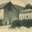 Archivio Fotografico Museo Civico Andrea Tubino. Masone 1900 circa, panorama su Piazza Castello - Foto di Gianni Ottonello
