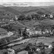 Archivio Fotografico Museo Civico Andrea Tubino. Masone 1960 circa, panorama del Mulino e Pian Pinerolo - Foto di Gianni Ottonello