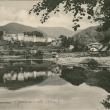 Archivio fotografico Museo Civico Andrea Tubino. Panorama di Masone riflesso. Anno 1917 - Foto di Gianni Ottonello