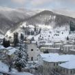 Masone dopo la nevicata - Foto di Gianni Ottonello