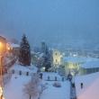 Masone sotto una lieve coltre di neve! - Foto di Gianni Ottonello