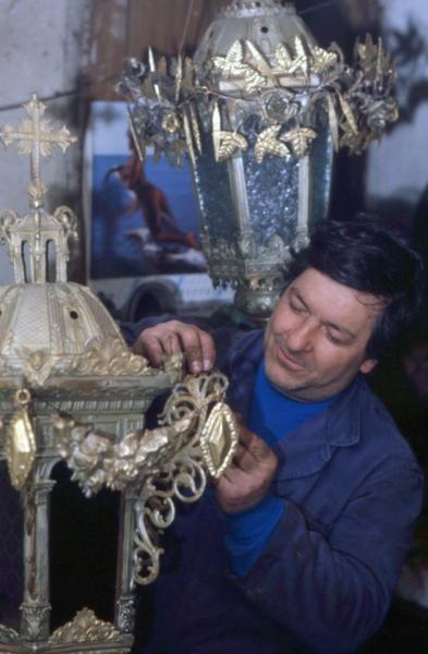 Giannotto, artista del ferro battuto - Foto di Gianni Ottonello