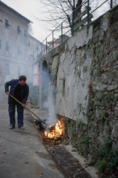Masonesi mitici: Angelo il Balò - Foto di Gianni Ottonello