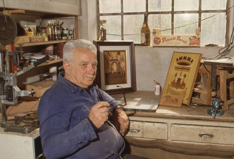 Masonesi mitici: Giuseppe Macciò, Giò - Foto di Gianni Ottonello