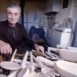 La serenità di Ciccia intagliatore di legno – Foto di Gianni Ottonello