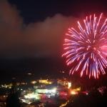 Fuochi d'artificio a Masone - Foto di Gianni Ottonello