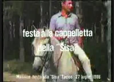 """Festa della """"Sisa"""" 1986"""