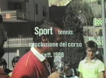 Corso di Tennis 1986