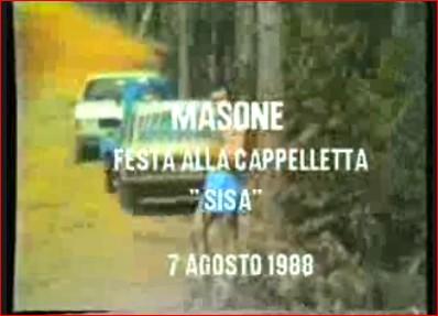 """Festa della """"Sisa"""" 1988"""