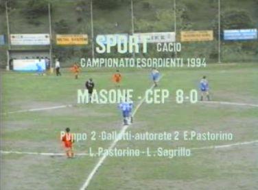 Calcio: Masone – CEP