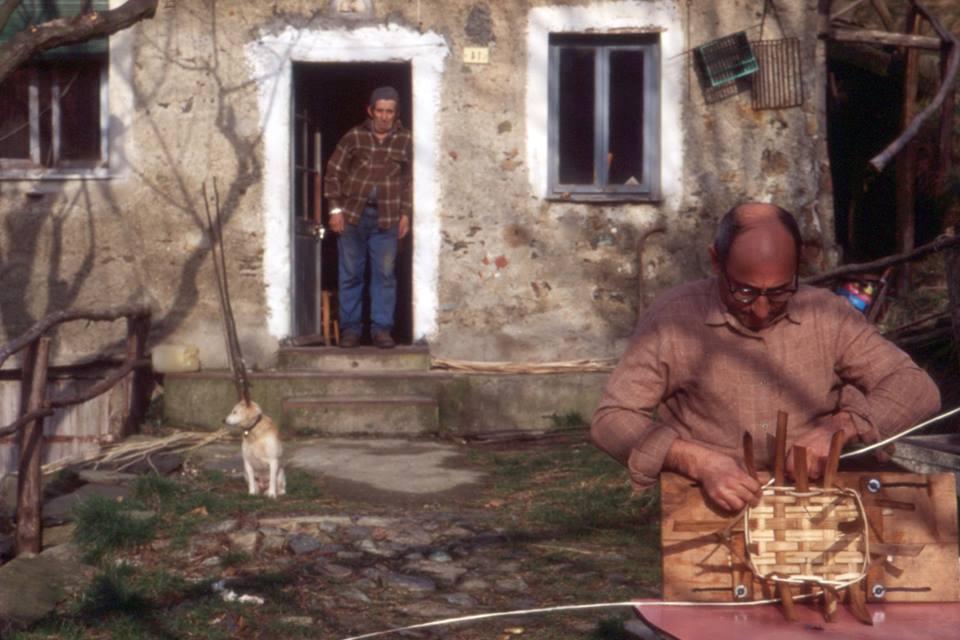 Masonesi mitici: Paolo il cestaio - Foto di Gianni Ottonello