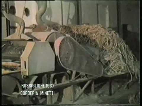 Corderia Minetti a Rossiglione