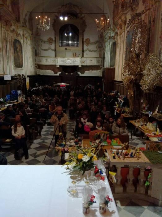 premiazione PRESEPI SCUOLE nel settecentesco Oratorio Sant'Antonio Abate - Mele